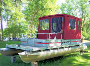 Pontoon boat pilot house enclosure Pilot house enclosure & Mister Sew-N-Sew Photo Gallery